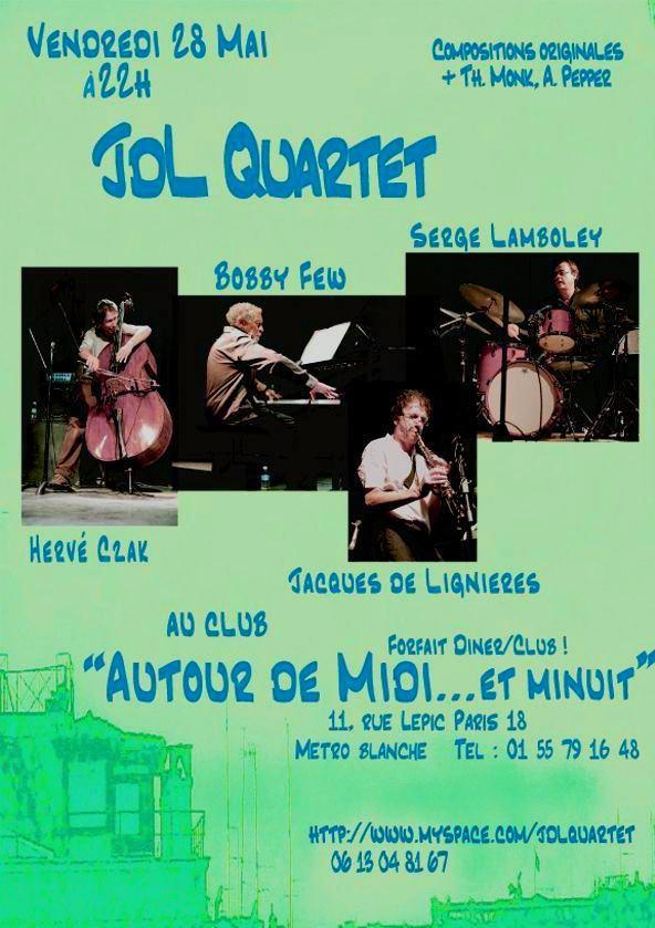 JDL Quartet, Concert28Mai