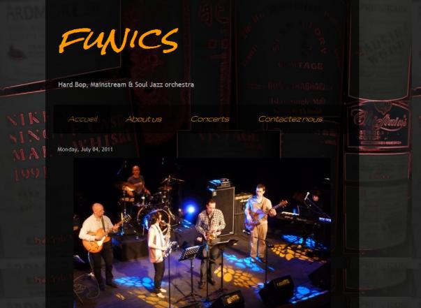 Funics web site
