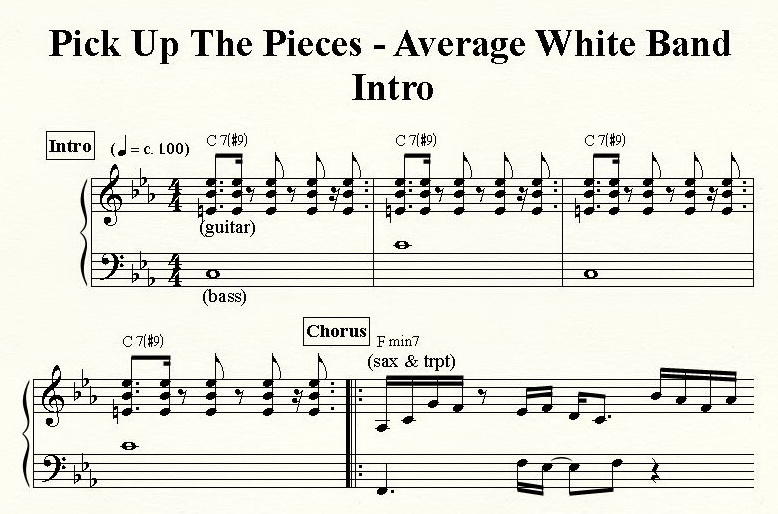 Average white band pick up the pieces atlantic k 10489
